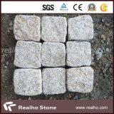 Piedra oxidada del cubo del granito del amarillo G682 de la venta caliente/piedra del adoquín para pavimentar