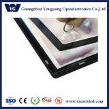 cadre magnétique acrylique latéral simple d'éclairage LED de modèle facile à installer