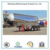 remorque de camion-citerne de la colle en vrac d'alliage d'aluminium du poids léger 40cbm