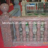 Bordo Red Stone Stair Baluster, Indoor e Outdoor Railings Banisters