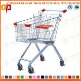 최대 대중적인 슈퍼마켓 금속 쇼핑 트롤리 (ZHT1)