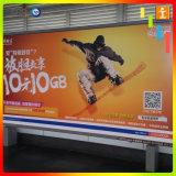 Знамя индикации СИД автобусной остановки напольное для рекламировать