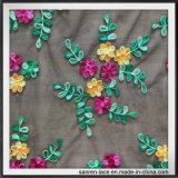 Sprung-Blumen-Stickerei-Spitze für Dame Dress