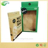 Casella di imballaggio di latte della noce con la finestra libera del PVC (CKT-CB-400)