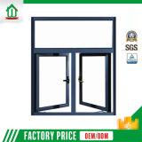 Usine en aluminium de guichet de tissu pour rideaux de qualité (WJ-002)