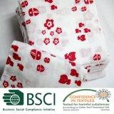 La couverture d'enveloppe de mousseline de bébé de coton Swaddle