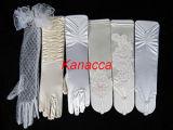 Guanti degli accessori di cerimonia nuziale