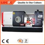 Preço de giro da máquina do torno do CNC da precisão grande chinesa do furo de eixo