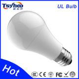 UL 승인되는 실내 LED 가벼운 9W A60/A19 E27 LED 전구