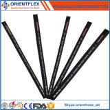 Boyau hydraulique en caoutchouc SAE 100 R2/DIN En853 2sn de tresse de fil d'acier