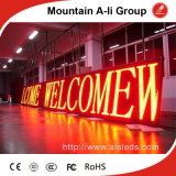 P10 Outdoor DIP LED Moving Sign voor Advertizing/Guide