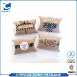 Rectángulo de papel de empaquetado modificado para requisitos particulares de Kraft de la almohadilla plegable del papel