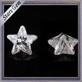 공상 모양 공간 백색 별 모양 느슨한 Moissanite 다이아몬드