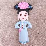 La famille de l'aimant chinois antique de réfrigérateur de série d'empereurs, souvenir