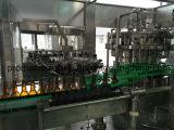 Linha de engarrafamento e de selagem de frasco de vidro alta tecnologia de cerveja da máquina/produção