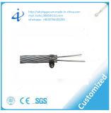 Câble optique échoué d'Opgw de fil de terre avec 24 faisceaux