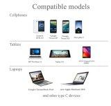 Type à grande vitesse C chargeant le câble de transfère des données d'USB pour les portables/tablettes/ordinateurs portatifs androïdes