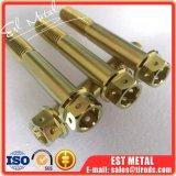 Rang 5 Titanium 12 van de Legering van het titanium Ti-6al-4V de HoofdBouten van de Flens