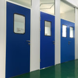 Двойные двери чистой комнаты нержавеющей стали/дверь качания для еды или фармацевтических промышленностей