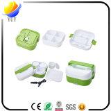 Portable eléctrico Bento del rectángulo de almuerzo de la calefacción del rectángulo de la comida del uso del hogar del uso del coche 12V-240V