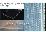 LEIDENE van het Frame van het aluminium Teken van de Onverwachte het Lichte Omlijsting van het Vakje voor de Muur Opgezette Vertoning van de Reclame