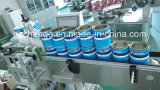 Máquina de etiquetado automática de las latas de estaños de la pintura