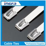Legami del cavo S/S dell'acciaio inossidabile di alta qualità con l'estremità 4.6X400mm della sfera libera