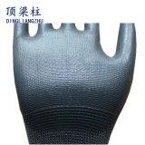 Handschuh-mehrfachverwendbares des Nitril-13G gezeichnet mit schwarzer Palmen-Beschichtung