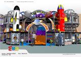 Спортивная площадка космического пространства опирающийся на определённую тему крытая