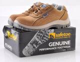 Zapatos de seguridad de acero del dedo del pie (L-7111)