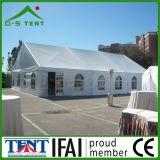 Tente imperméable à l'eau 6X12 de mariage d'écran d'événement de noce blanche de PVC
