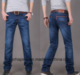 2016 jeans de denim mince droit de pantalon de Mens de mode longs