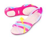 女性のための安いPVCゼリーの靴