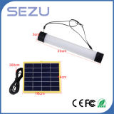 3W luz Emergency al aire libre portable de la carga del USB del panel solar 24 LED