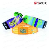 Wristbands del braccialetto del chip RFID di MIFARE per il concerto di festival di musica