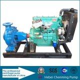 China-motorangetriebene Oberflächenwasser-Dieselpumpe für Bewässerung