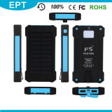 Flashligh Ipx6 Waterproof Solar 10000mAh Solar Powerバンク(NP-004)