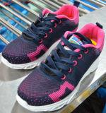 Chaussure de hausse résiliente, respirable, antimicrobienne d'hommes