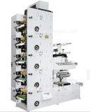 Machine d'impression Flexo d'étiquettes avec 3 stations de découpe