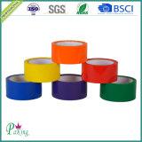 Fita adesiva da embalagem da cor preta BOPP da fonte para a selagem da caixa