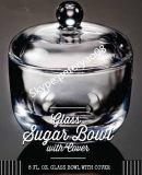 Tableware de vidro para Sugar Using
