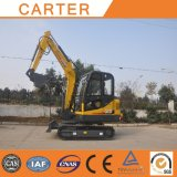 Do Backhoe hidráulico da esteira rolante de Carter CT45-8b (4.5T) mini máquina escavadora