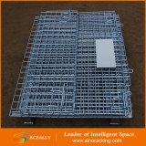 Stapelbarer zusammenklappbarer Stahlmaschendraht-Rahmen