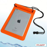 Sacchetto impermeabile ecologico della chiusura lampo dello strato intermedio per iPad mini