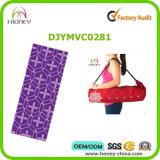Recyclable циновка йоги природного каучука, Cusotmize напечатала циновку