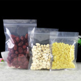 Poche stratifiée transparente comique de nourriture avec le blocage de fermeture éclair/sac en plastique d'emballage avec le zip-lock (ML-E14)