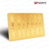 carte sans contact d'IDENTIFICATION RF de carte d'IDENTIFICATION RF de PVC 125kHz/13.56MHz