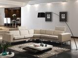La L semplice sofà dell'angolo del tessuto di figura ha impostato per la casa (FS-006)
