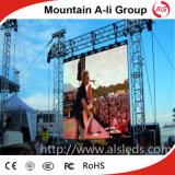 Stadiums-Miete P8 HD im Freienled-Bildschirmanzeige mit Fall-Stab