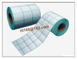 Taille faite sur commande pour l'étiquette blanche de papier thermosensible